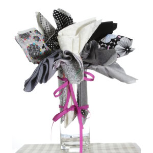 Jimmy Beans Wool Fabric Bouquets - Mother's Day Neutrals