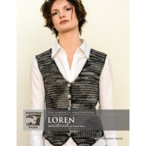 Juniper Moon Farm The Viroqua Collection Patterns - Loren Waistcoat Pattern