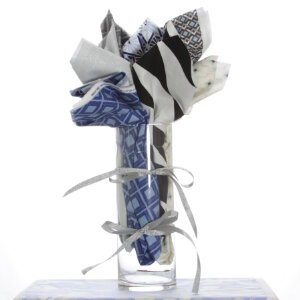 Jimmy Beans Wool Fabric Bouquets - Westminister Fabrics 10th Anniversary Bouquet- Diamond