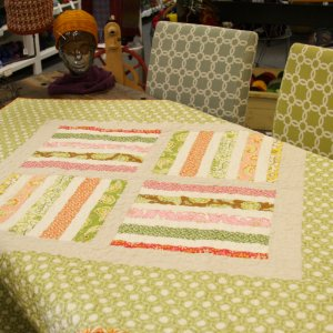 Jimmy Beans Wool Hand Made Gifts - Joel Dewberry & Heather Bailey Mix Quilt