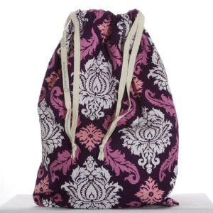 Jimmy Beans Wool Hand Made Project Bag - '14 June - Sookie's Last Stand - Damask