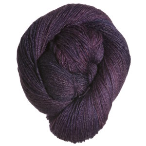Mrs. Crosby Train Case Yarn - Midnight Aubergine