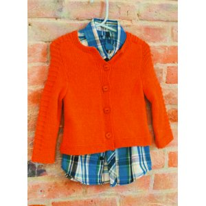 Plymouth Baby & Children Patterns - 2737 Baby and Toddler Saddle Shoulder Cardigan Pattern