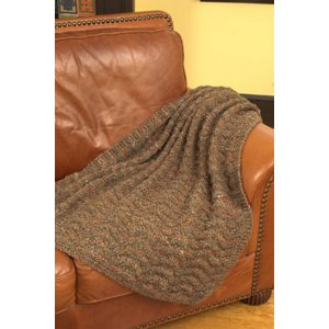 Plymouth Patterns - Home Accessory Patterns - 2708 Linking Triangle Throw