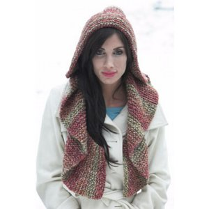 Plymouth Women's Accessory Patterns - 2698 Hooded Scarf Pattern