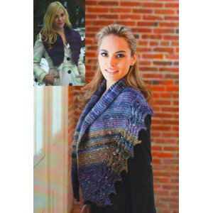 Plymouth Women's Accessory Patterns - 2704 Cable Edge Scarf and Shawl Pattern