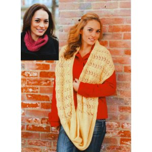 Plymouth Women's Accessory Patterns - 2738 Cowls Pattern