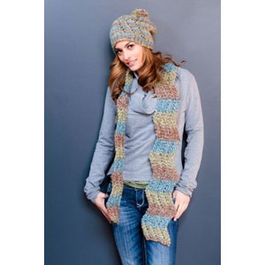 Plymouth Women's Accessory Patterns - 2759 Adult Hat and Scarf Pattern