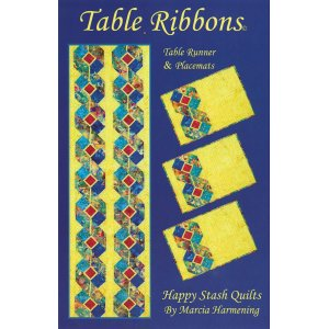 Happy Stash Quilt Sewing Patterns - Table Ribbons Pattern