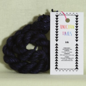 Madelinetosh Unicorn Tails Yarn - Ink