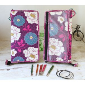 Chicken Boots Interchangeable Needle Case - Gardenia