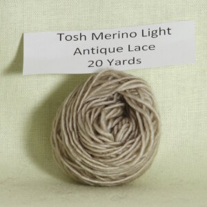 Madelinetosh Tosh Merino Light Samples Yarn - Antique Lace