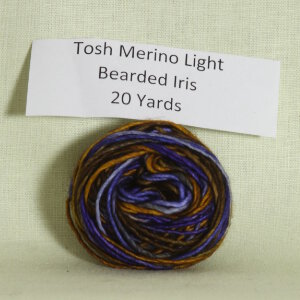 Madelinetosh Tosh Merino Light Samples Yarn - Bearded Iris (Discontinued)