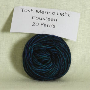 Madelinetosh Tosh Merino Light Samples Yarn - Cousteau