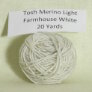 Madelinetosh Tosh Merino Light Samples - Farmhouse White
