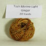 Madelinetosh Tosh Merino Light Samples - Ginger (Discontinued)