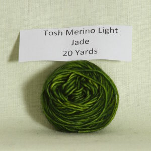 Madelinetosh Tosh Merino Light Samples Yarn - Jade