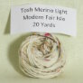 Madelinetosh Tosh Merino Light Samples Yarn - Modern Fair Isle