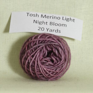 Madelinetosh Tosh Merino Light Samples Yarn - Night Bloom