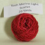 Madelinetosh Tosh Merino Light Samples - Scarlet (Discontinued)