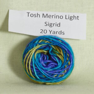 Madelinetosh Tosh Merino Light Samples Yarn - Sigrid