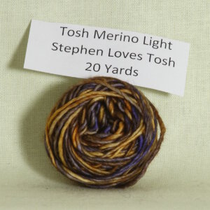 Madelinetosh Tosh Merino Light Samples Yarn - Stephen Loves Tosh (Discontinued)