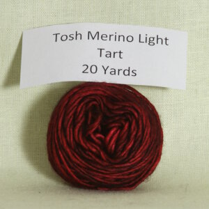 Madelinetosh Tosh Merino Light Samples Yarn - Tart