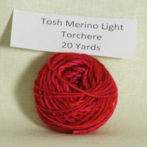 Madelinetosh Tosh Merino Light Samples Yarn - Torchere