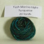 Madelinetosh Tosh Merino Light Samples - Turquoise