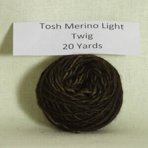 Madelinetosh Tosh Merino Light Samples Yarn - Twig