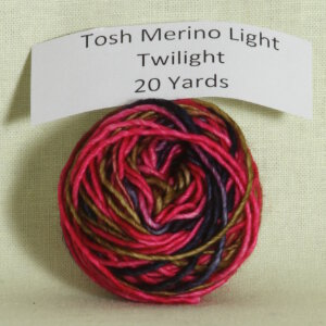 Madelinetosh Tosh Merino Light Samples Yarn - Twilight (Discontinued)