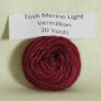 Madelinetosh Tosh Merino Light Samples Yarn - Vermillion (Discontinued)