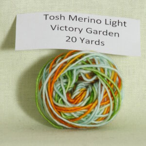 Madelinetosh Tosh Merino Light Samples Yarn - Victory Garden