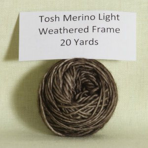 Madelinetosh Tosh Merino Light Samples Yarn - Weathered Frame (Discontinued)