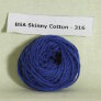 Blue Sky Fibers Skinny Cotton Samples - 316 French Blue
