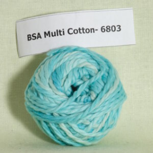 Blue Sky Alpacas Multi Cotton Samples Yarn
