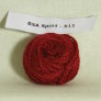 Blue Sky Alpacas 100% Alpaca Sportweight Samples - 511 Red