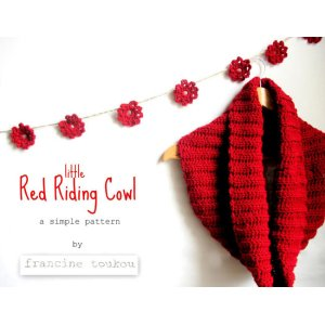 Francine Toukou Patterns - Little Red Riding Cowl Pattern