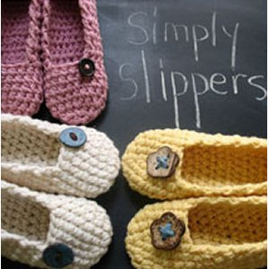 Francine Toukou Patterns - Simply Slippers Pattern
