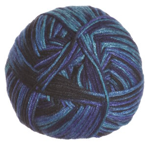 Crystal Palace Panda Silk Yarn - 5210 Lake Blues (Discontinued)
