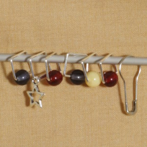 Spark Exclusive JBW Stitch Markers - Color Spots Exclusive - Americana Style
