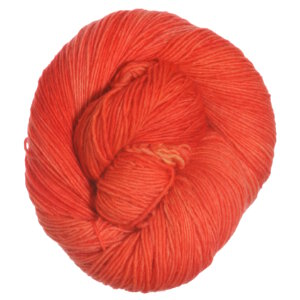 Unraveled Designs and Yarn Unraveled Fingering Yarn - Tangerine Speedo