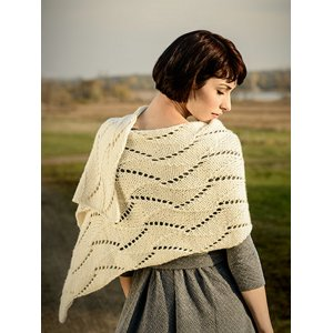 Blue Sky Fibers The Destination Collection Patterns - Cane Bay Wrap Pattern