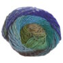 Noro Kureyon Yarn - 344 Jade, Sky, Green, Brown