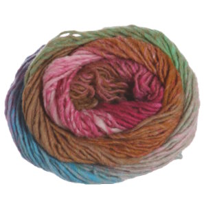 Noro Kureyon Yarn - 348 Pink, Fuchsia, Brown, Mint (Discontinued)