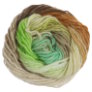 Noro Kureyon Yarn - 350 Ecru, Lime, Brown, Caramel