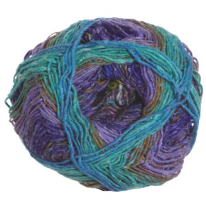 Noro Silk Garden Sock Yarn - 411 Purples, Green, Grey