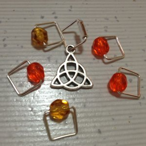 Spark Exclusive JBW Stitch Markers - Inspired - Fraser