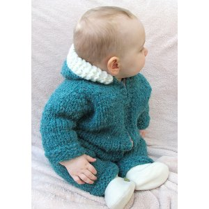 Knitting Pure and Simple Baby & Children Patterns - 1406 - Super Bulky One Piece Suit or Jacket Pattern