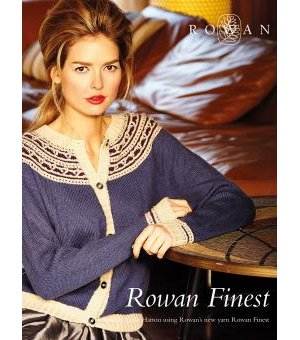 Rowan Pattern Books - Rowan Finest